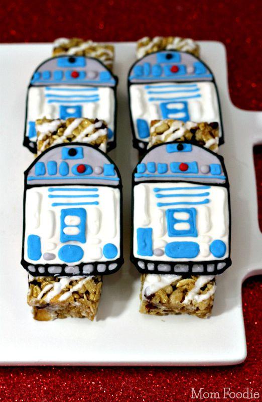 R2D2 Granola Bars Star Wars Snack Recipe