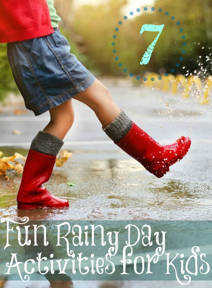 Rainy Day Kids Activities