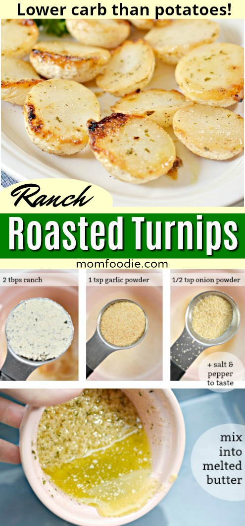 Ranch Roasted Turnips