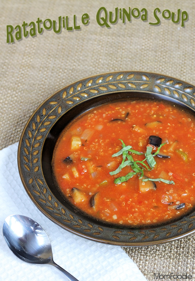Ratatouille Quinoa Soup