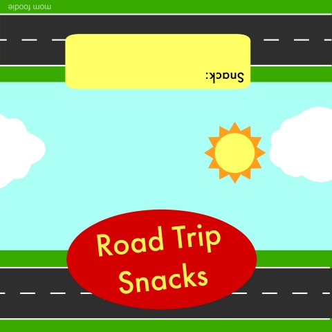 Road Trip Snacks Printable