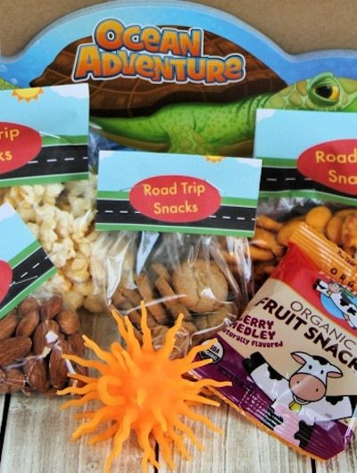Smart Road Trip Snacks (Free Printable Labels): Avoid Junk Food Pit Stops