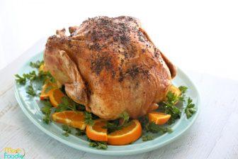 Roast Turkey with Orange
