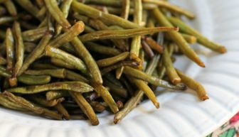 Roasted Green Beans Low-carb snack or side