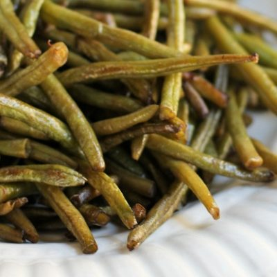 Roasted Green Beans Recipe | Easy Low Carb Snack or Side