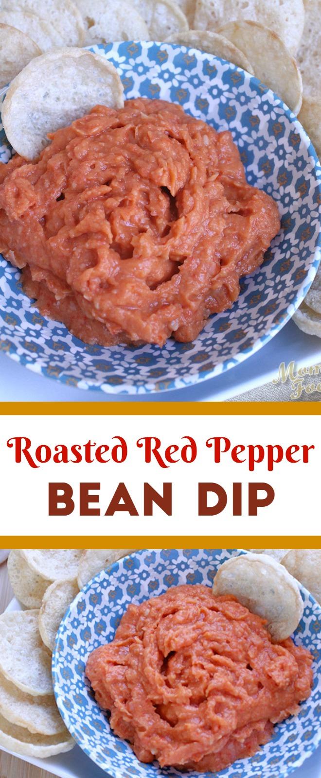 Roasted Red Pepper Bean Dip Recipe
