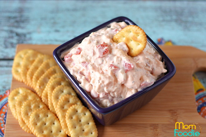 Roasted Red Pepper Ranch dip