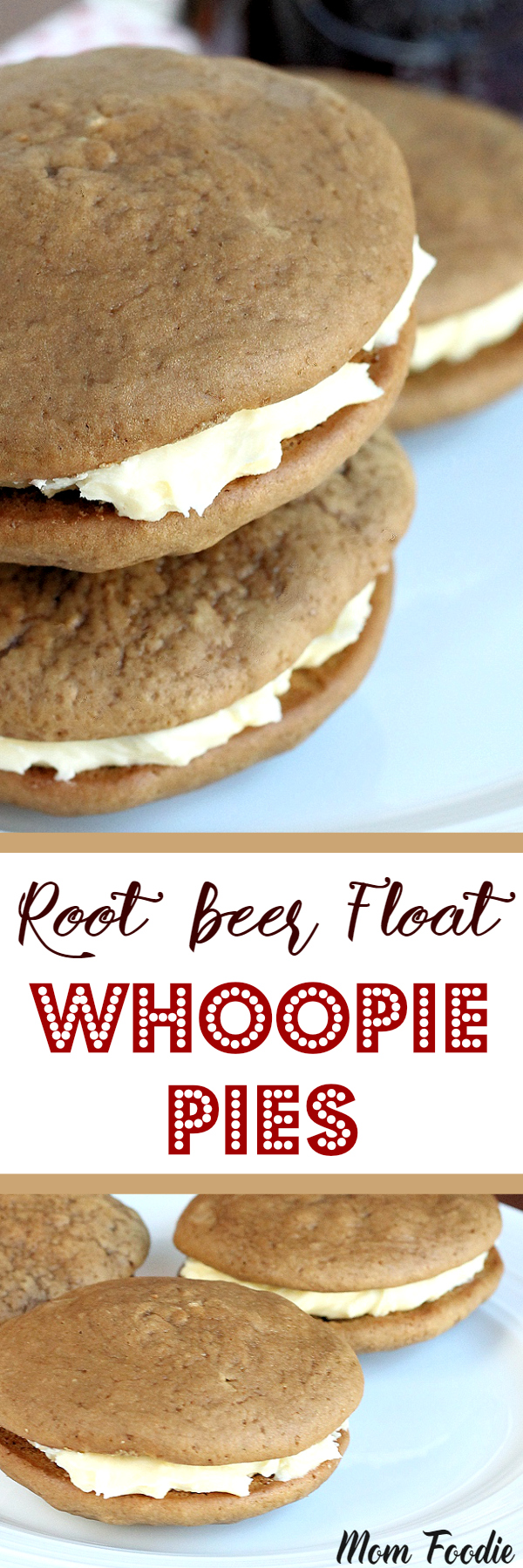 Root Beer Float Whoopie Pies