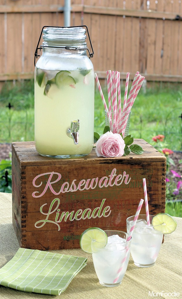Rosewater Limeade