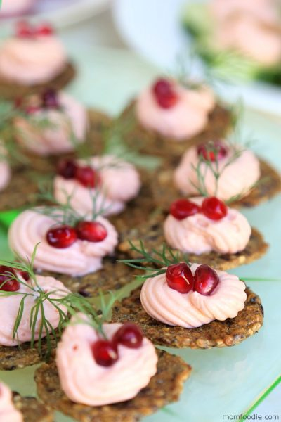 Salmon Mousse Appetizers