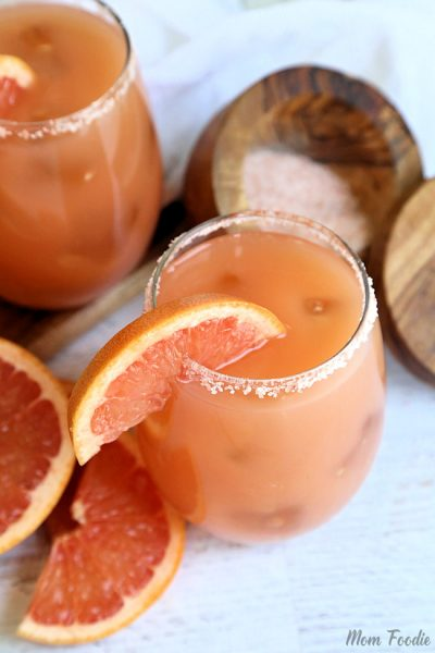 Salty Dog Drink – Pink Grapefruit Salty Dog Cocktail Recipe