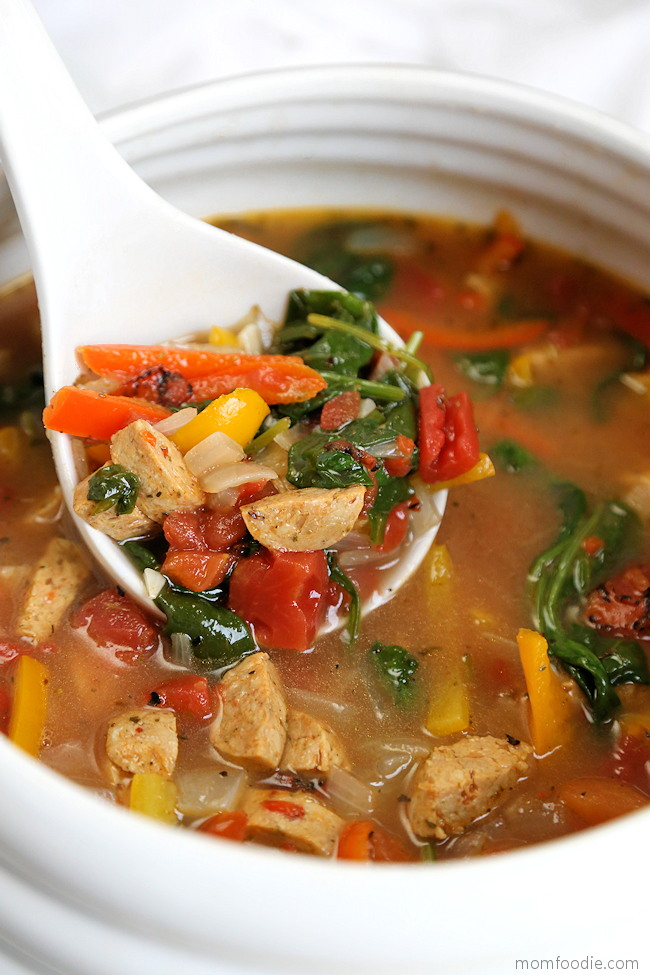 Sausage and Pepper Soup
