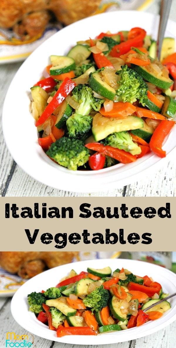 Sauteed Vegetables Italian Style