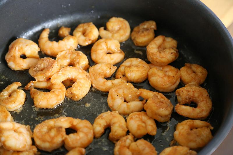 Seapak marinated shrimp