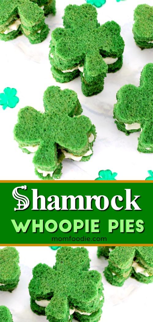 Shamrock Whoopie Pies