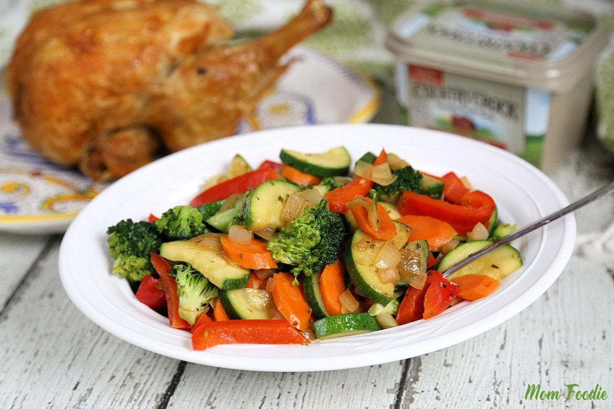 Simple Sauteed Vegetables
