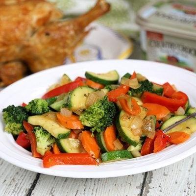 Simple Sauteed Vegetables