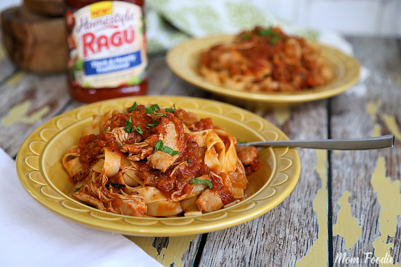 Slow Cooker Chicken Thigh Bolognese RAGU