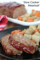 Slow Cooker Meat Loaf Recipe