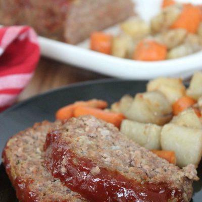 Slow Cooker Meat Loaf Recipe