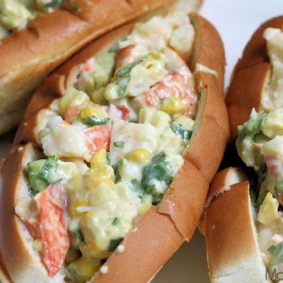 Southwest Lobster Roll Recipe