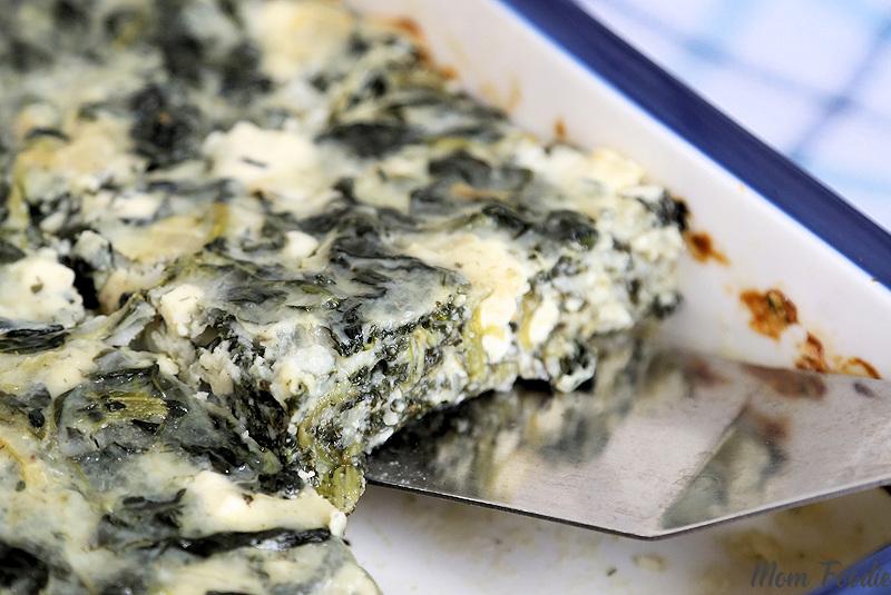 Spanakopita Cottage Cheese Casserole