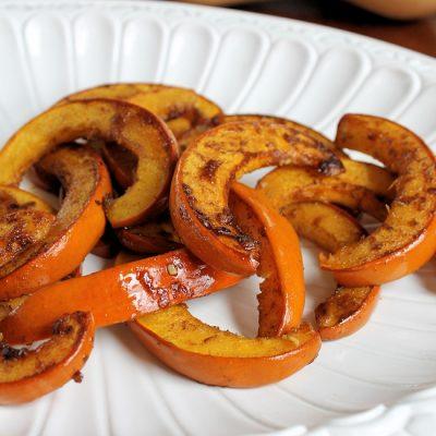 Spicy Honey Roast Pumpkin recipe