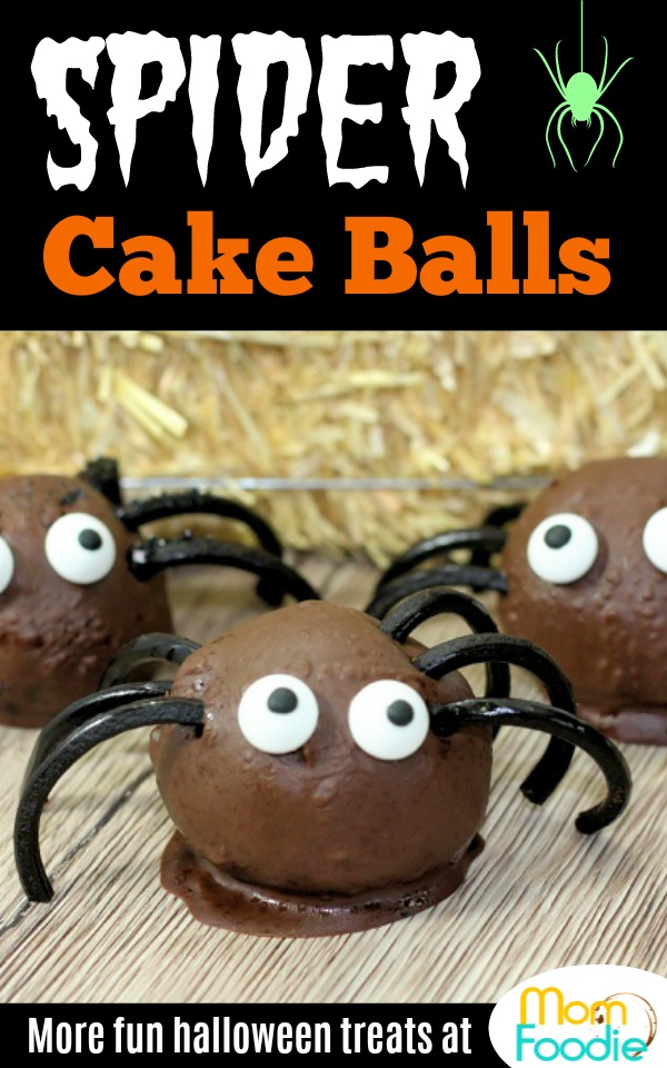 Spider Cake Balls