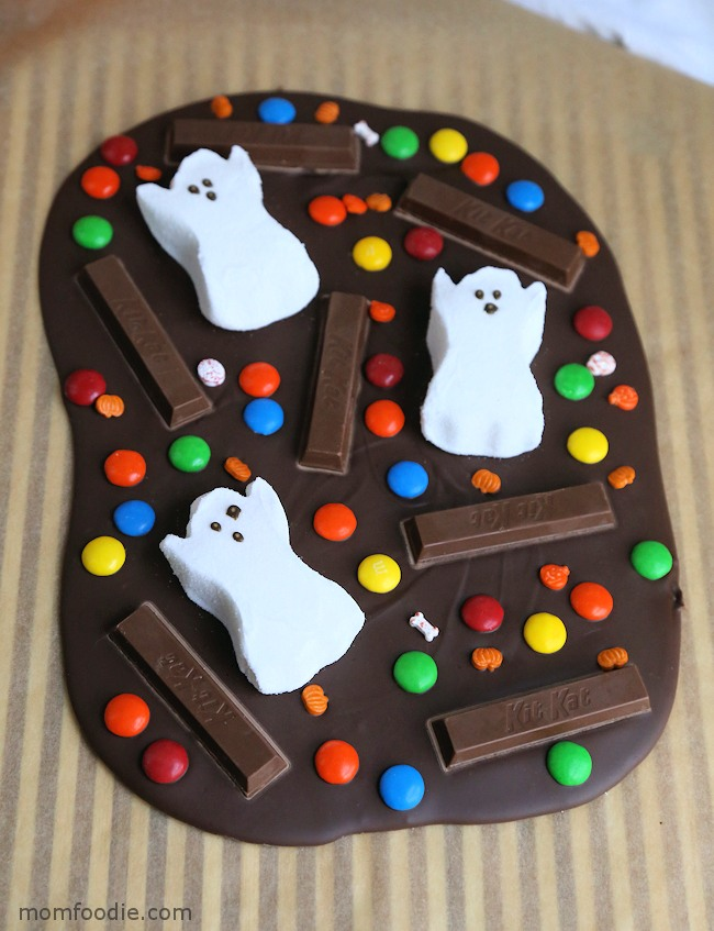Spooky Halloween Bark