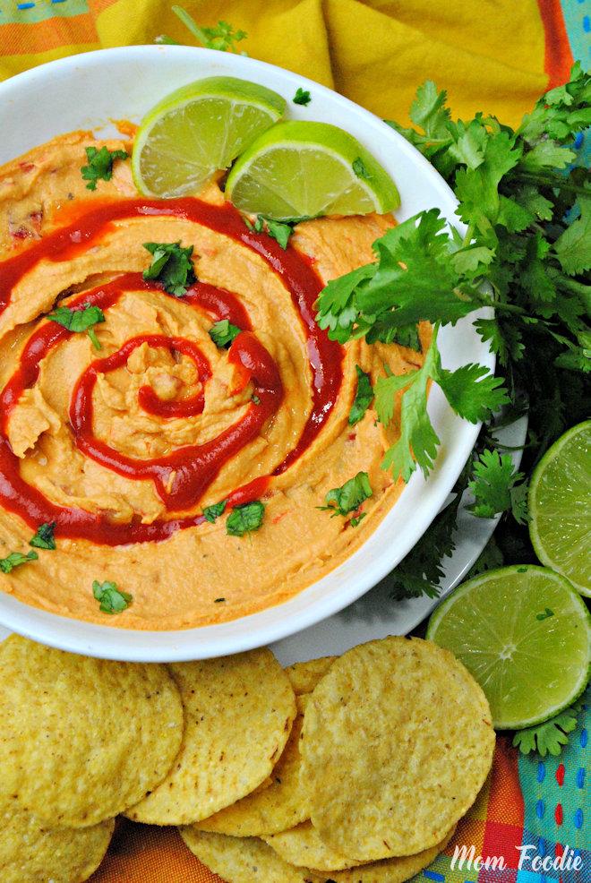 Sriracha Lime Hummus Dip
