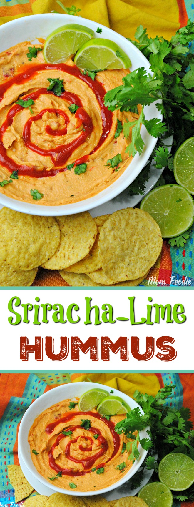 Sriracha Lime Hummus Recipe