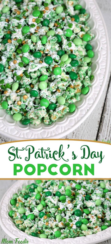 St Patrick's Day Popcorn
