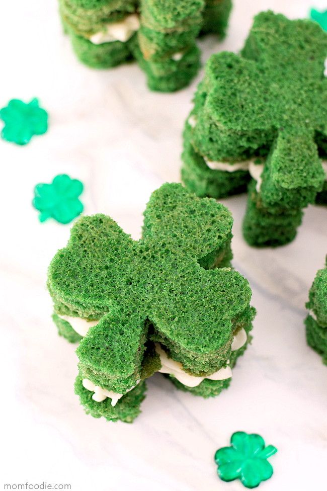 St. Patrick's Day Whoopie Pies