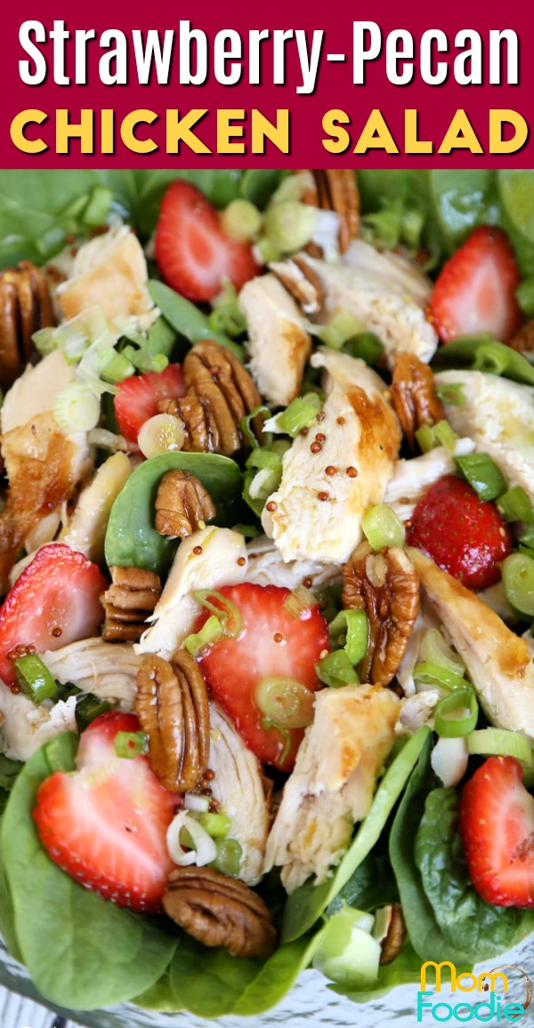 Strawberry Pecan Chicken Salad