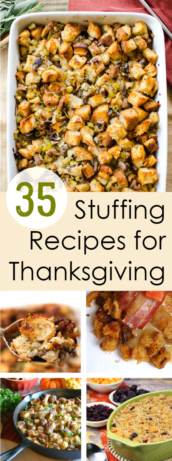 Stuffing Recipes for Thanksgiving