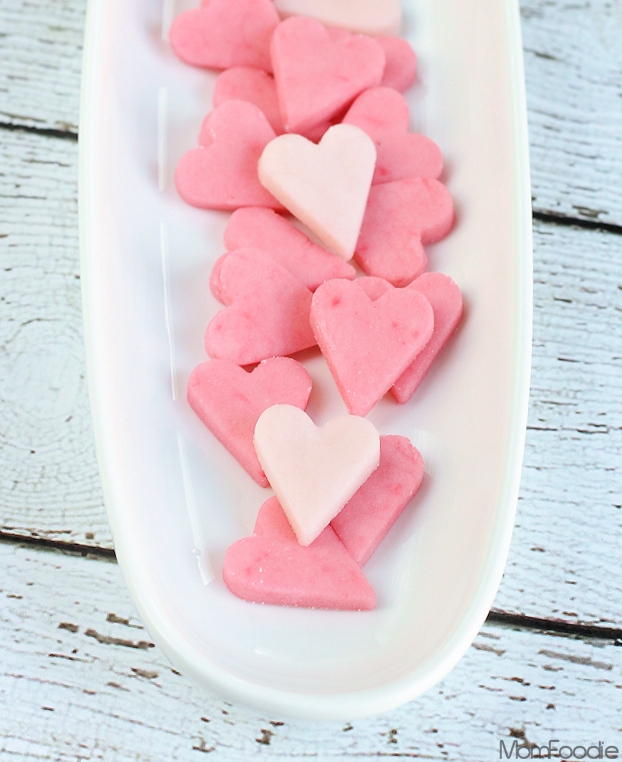 Sugar-free heart candies recipe
