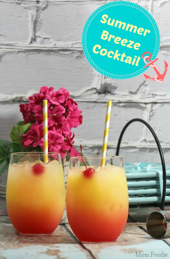Summer Breeze Cocktails recipe