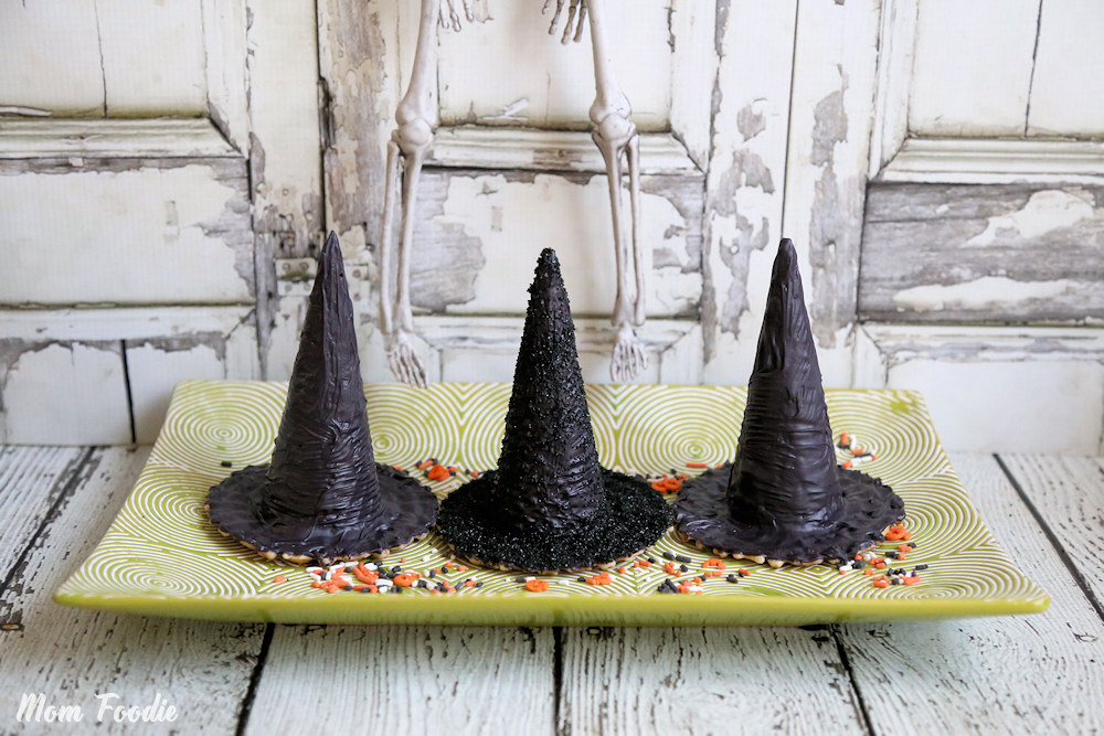 DIY Surprise Inside Halloween Witch Hats : Edible Treat ...