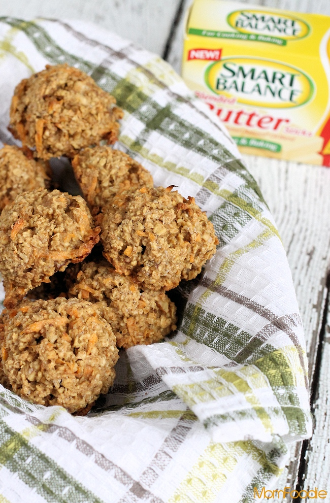 Sweet Potato & Walnut Breakfast Cookies