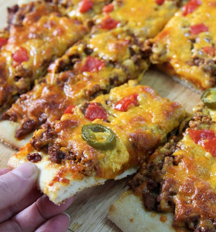 awesome foods like tacos and pizza? Being able to make a taco pizza ...