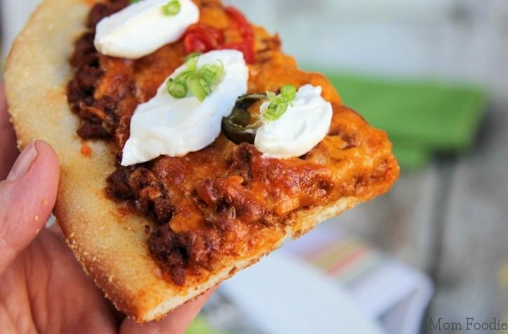 Taco Pizza Slice