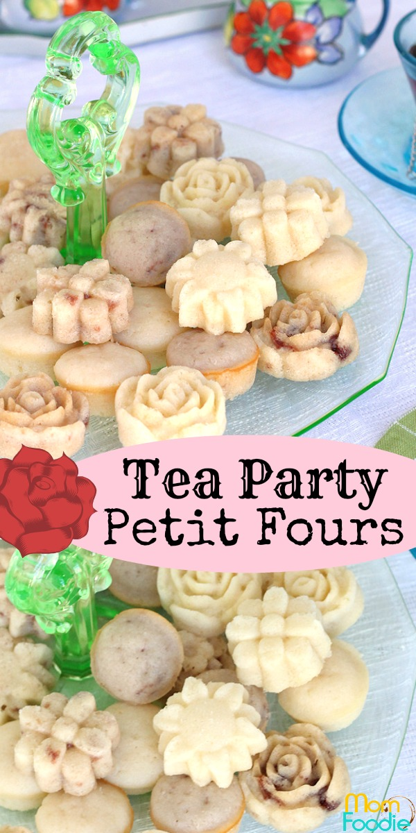 Tea Party Petit Fours