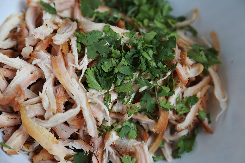 Thai Pulled Chicken