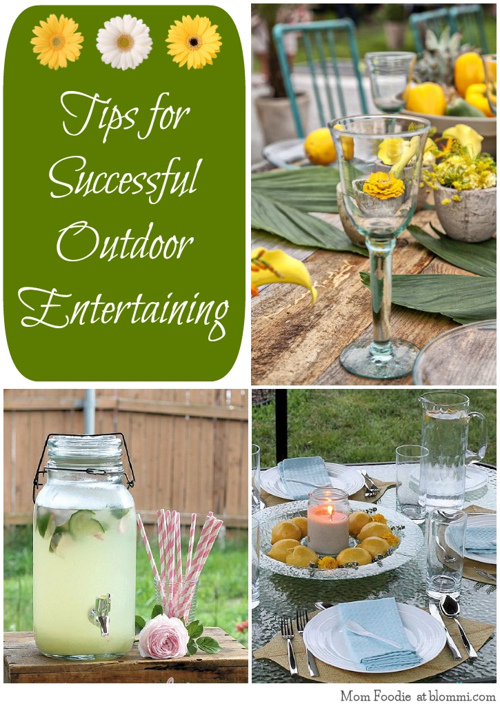 Outdoor Entertaining Tips