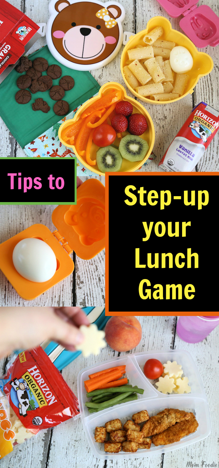Tips for making Fun Balanced School Lunches