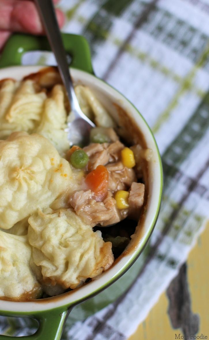 Turkey Dinner Shepherd's Pie Recipe gluten-free