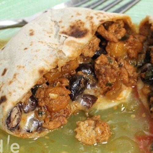 Turkey Pumpkin Burrito