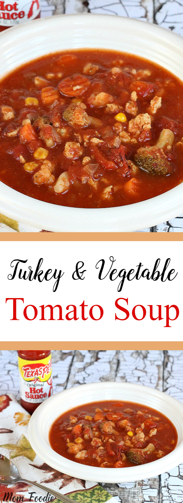 Turkey & Vegetable Tomato Soup