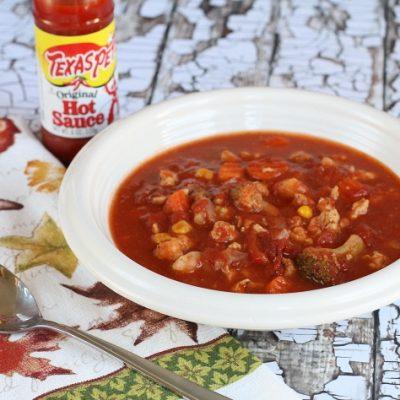 Turkey & Vegetable Tomato Soup
