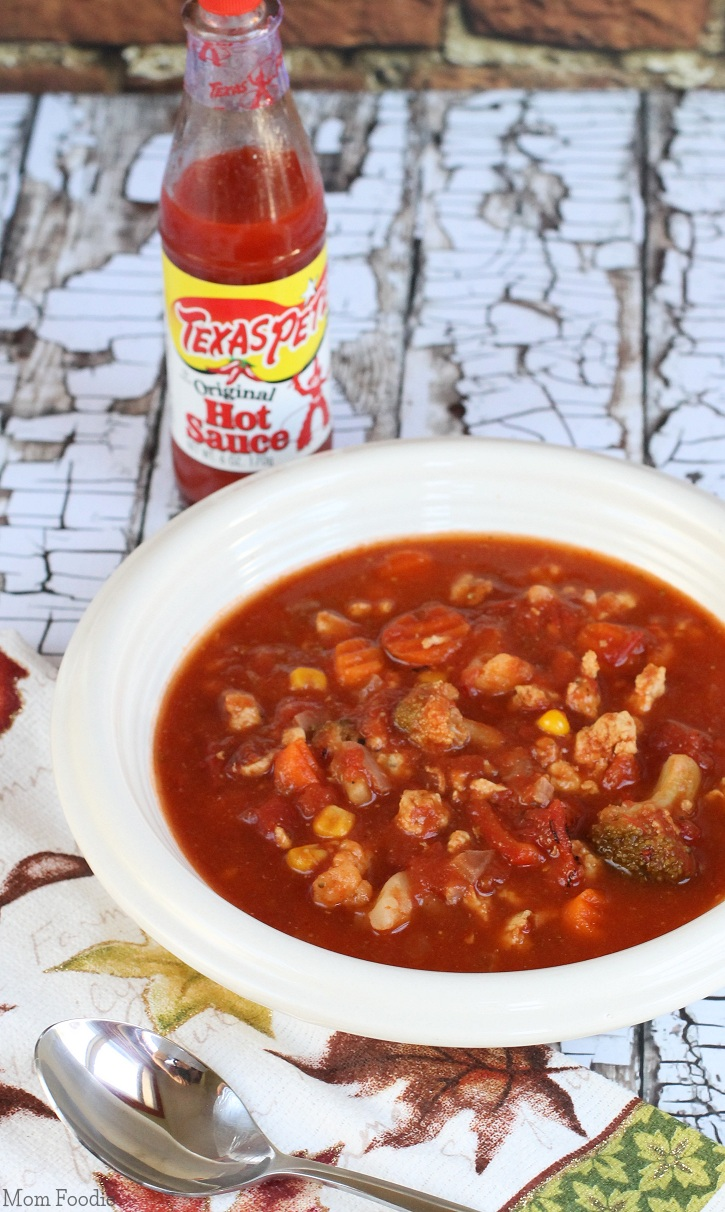 Turkey Vegetable Tomato Soup